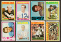 Football Cards:Sets, 1972 Topps Football Low & Middle Series Near Run (260/263). ...