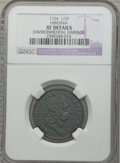 Colonials: , 1724 1/2P Hibernia Halfpenny -- Environmental Damage -- NGCDetails. XF. NGC Census: (1/9). PCGS Population (6/39). ...
