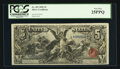 Large Size:Silver Certificates, Fr. 269 $5 1896 Silver Certificate PCGS Very Fine 25PPQ.. ...