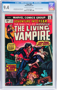 Fear #23 Morbius (Marvel, 1974) CGC NM 9.4 Off-white to white pages