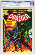 Bronze Age (1970-1979):Horror, Tomb of Dracula #21 (Marvel, 1974) CGC NM 9.4 White pages....