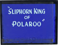 Animation Art:Production Cel, Sliphorn King of Polaroo Title Card Animation Art (WalterLantz Productions, 1945)....