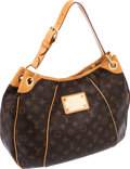 Luxury Accessories:Bags, Louis Vuitton Classic Monogram Canvas Galleria Hobo Bag. ...