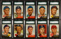 Baseball Cards:Lots, 1953 Topps Baseball Collection (45) With HoFers. ...