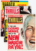 Magazines:Miscellaneous, Screen Thrills Illustrated Group (Warren, 1961-63) Condition:Average VF-.... (Total: 9 Comic Books)