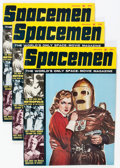 Magazines:Science-Fiction, Spacemen V2#2 Group (Warren, 1963) Condition: Average VG....(Total: 11 Comic Books)