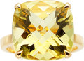 Estate Jewelry:Rings, Citrine, Gold Ring, Tiffany & Co.. ...