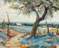 Texas:Early Texas Art - Regionalists, LOIS HOGUE SHAW (American, 1897-2001). Texas Spring . Oil onboard. 20 x 24 inches (50.8 x 61.0 cm). Signed lower right:...