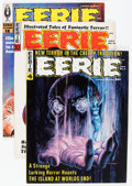 Magazines:Horror, Eerie Group (Warren, 1966-70) Condition: Average FN/VF.... (Total: 17 Comic Books)