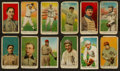 Baseball Cards:Lots, 1909-11 American Caramel Baseball Collection (12) with HoFers. ...