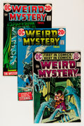 Bronze Age (1970-1979):Horror, Weird Mystery Tales Savannah pedigree Group (DC, 1972-75)Condition: Average NM-.... (Total: 8 Comic Books)