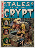 Golden Age (1938-1955):Horror, Tales From the Crypt #29 (EC, 1952) Condition: FN-....