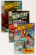 Bronze Age (1970-1979):Horror, Where Monsters Dwell Group - Savannah pedigree (Marvel, 1970-74)Condition: VF/NM.... (Total: 22 Comic Books)