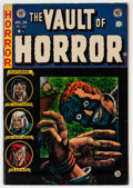 Golden Age (1938-1955):Horror, Vault of Horror #34 (EC, 1954) Condition: FN....