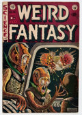 Golden Age (1938-1955):Science Fiction, Weird Fantasy #16 Canadian Edition (EC, 1952) Condition: FN-....
