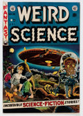 Golden Age (1938-1955):Science Fiction, Weird Science #16 Canadian Edition (EC, 1952) Condition: FN....