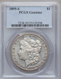 Morgan Dollars, 1895-S $1 PCGS Genuine. The PCGS number ending in .92 suggestsCleaning as the reason, or perhaps one of the reasons, that ...