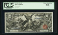 Large Size:Silver Certificates, Fr. 268 $5 1896 Silver Certificate PCGS Choice About New 55.. ...