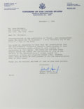 Autographs:U.S. Presidents, Al Gore Jr. Typed Letter Signed as a member of the House ofRepresentatives. Also included is the transmittal envelope with ...(Total: 2 Items)
