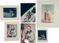 Explorers:Space Exploration, Ed White II: Group of Twenty-One High-Quality Color Photos, including One Signed by Jim McDivitt, from his Personal Collection... (Total: 21 )