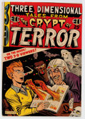 Golden Age (1938-1955):Horror, Three Dimensional Tales from the Crypt of Terror #2 (EC, 1954)Condition: FN....
