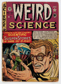 Golden Age (1938-1955):Science Fiction, Weird Science #12 (#1) (EC, 1950) Condition: FR/GD....