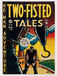 Two-Fisted Tales #18 (EC, 1950) Condition: GD/VG