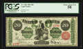 Large Size:Legal Tender Notes, Fr. 126b $20 1863 Legal Tender PCGS Choice About New 58.. ...