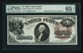Large Size:Legal Tender Notes, Fr. 33 $1 1880 Legal Tender PMG Gem Uncirculated 65 EPQ.. ...