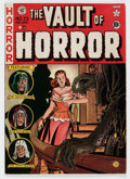 Golden Age (1938-1955):Horror, Vault of Horror #23 Double Cover (EC, 1952) Condition: FN....