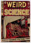 Golden Age (1938-1955):Science Fiction, Weird Science #8 Canadian Edition (EC, 1951) Condition: VG....