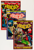 Bronze Age (1970-1979):Horror, Tomb of Dracula #3-7 Savannah pedigree Group (Marvel, 1972-73)Condition: Average NM-.... (Total: 5 Comic Books)