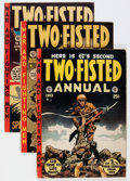 Golden Age (1938-1955):War, Two-Fisted Tales Group (EC, 1950s) Condition: Average GD/VG....(Total: 16 Comic Books)