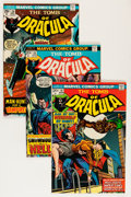 Bronze Age (1970-1979):Horror, Tomb of Dracula Savannah pedigree Group (Marvel, 1974-77)Condition: Average NM-.... (Total: 9 Comic Books)