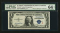 Small Size:Silver Certificates, Fr. 1610* $1 1935A S Silver Certificate. PMG Choice Uncirculated 64 EPQ.. ...