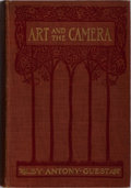 Books:Photography, [Photography]. Antony Guest. Art and the Camera. George Bell, 1907. Publisher's cloth with minor rubbing and toning....