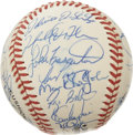 Autographs:Baseballs, 1997 St. Louis Cardinals Team Signed Baseball. Virtually every inchof the ONL (Coleman) orb that we see here has been blan...