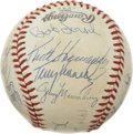 Autographs:Baseballs, 1979 St. Louis Cardinals Team Signed Baseball. Nineteen members ofthe 1979 St. Louis Cardinals have applied signatures to ...