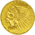 Indian Quarter Eagles: , 1911-D $2 1/2 MS64 PCGS. In nearly every series, there is a coin that experiences greater demand than any other, and the 19...
