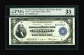 Fr. 747 $2 1918 Federal Reserve Bank Note PMG Choice Very Fine 35