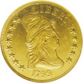 Early Eagles: , 1799 $10 Small Stars Obverse--Cleaned--ANACS. MS60 Details. B. 3-B,Breen-6838, Taraszka-18, R.6. The 1799 is an available ...