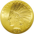 Indian Eagles: , 1914-S $10 MS65 NGC. Breen-7126. RPM-1. Double S. The first example that we have ever offered of this rare variety, at any ...