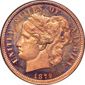 1879 P10C Washlady Dime, Judd-1585, Pollock-1778, High R.6, PR64 Red and Brown Cameo NGC. CAC....(PCGS# 71962)