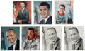 Autographs:Celebrities, Mercury Seven Astronauts: Individual Signed Photos of Five.... (Total: 12 )