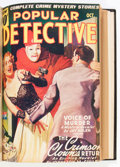 Pulps:Detective, Popular Detective Bound Volumes (Better Publications, 1937-48)....(Total: 6 Items)