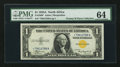 Small Size:World War II Emergency Notes, Fr. 2306* $1 1935A North Africa Silver Certificate. PMG Choice Uncirculated 64.. ...