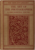 Books:Photography, [Photography]. Edward Drummond Young. The Art of the Photographer. Seeley, Service, 1929. Publisher's cloth with min...