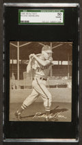 Baseball Cards:Singles (1940-1949), 1949 Sealtest Ice Cream Richie Ashburn RC SGC 50 VG/EX 4. ...