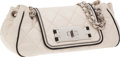 Luxury Accessories:Bags, Chanel Light Beige & Black Lambskin Leather Ad-Campaign ModernAccordion Flap Bag . ...