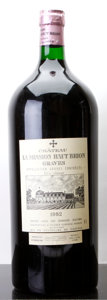 Red Bordeaux, Chateau La Mission Haut Brion 1982 . Pessac-Leognan.Imperial (1). ... (Total: 1 Imp. )